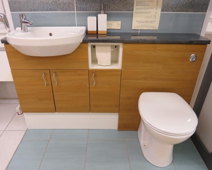 ex display bathroom furniture showroom design service
