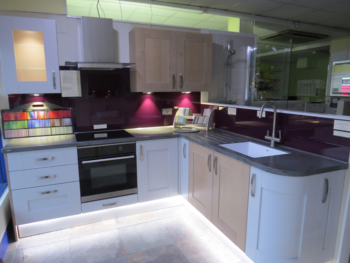 New kitchen display showroom design service dibden purlieu southampton the bathroom for Christopher s bath and kitchen design showroom